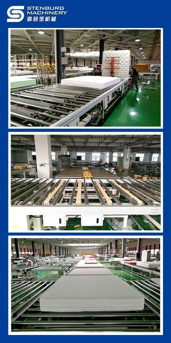 Linha de produção de colchões