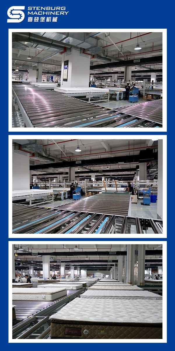 Plano completo do projeto da linha de produção do colchão 4
